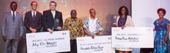 Egyptian wins $100k Innovation Prize for Africa