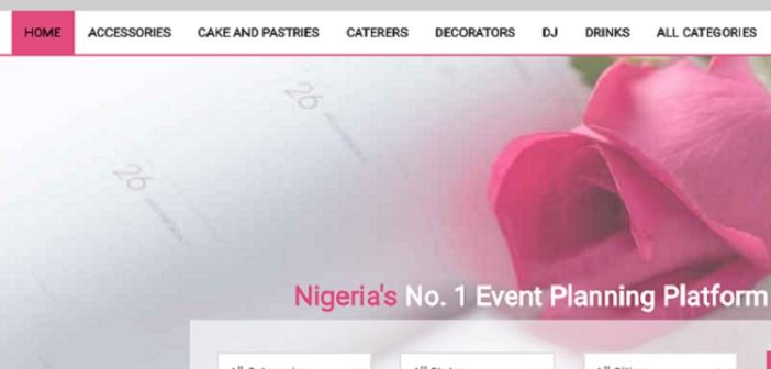 Eventplanner.ng sees traction with digital marketplace