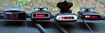 Rated Radar Detector gives security to drivers everywhere