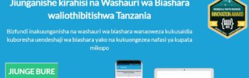 This platform is connecting Tanzanian startups with business advice