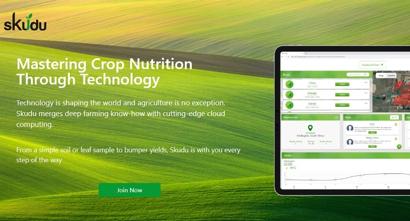 SA's Skudu helps agribusinesses increase revenues by applying tech to agronomy - Disrupt Africa
