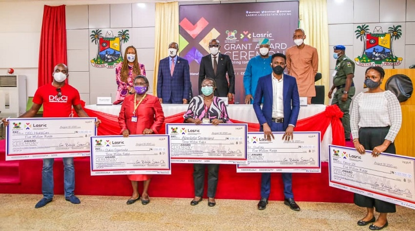 23 Lagos Innovators Share 260k State Government Grants Disrupt Africa
